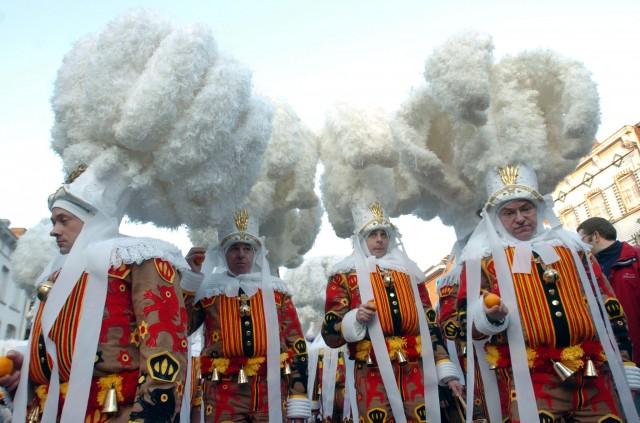 Carnival of Binche, Belgium