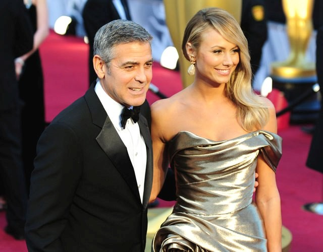 George Clooney and Stacy Keebler
