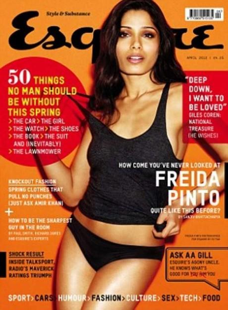 SEXY: Freida Pinto's hottest photoshoot!