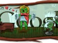 google doodle leap year rossini