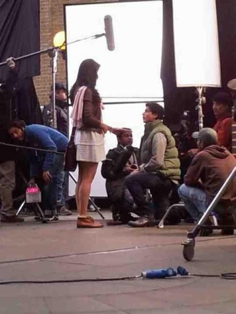 ON THE SETS: SRK-Kat's untitled film!