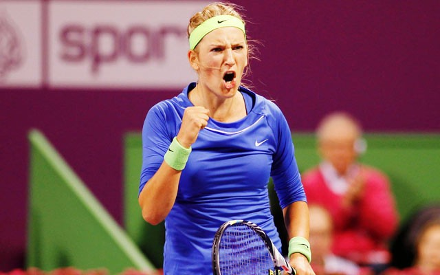 Azarenka back from brink to No. 1