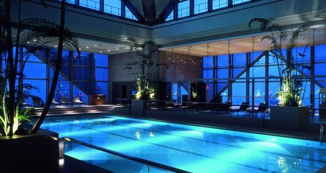Atrium Pool, Park Hyatt, Tokyo