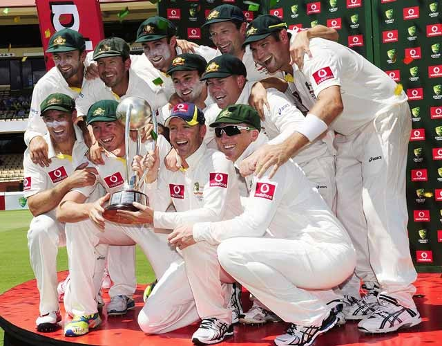 Australia seal India series whitewash