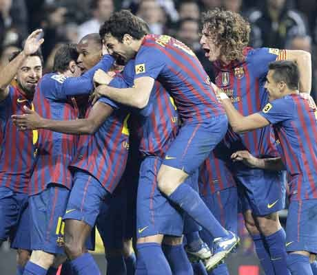First blood to Barca against Real in Cup