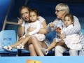 When Federer's twins turned up to cheer for daddy