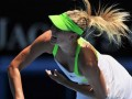 Sharapova into 3rd round in Australia