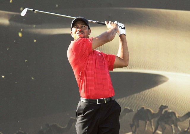 Woods upbeat after Abu Dhabi challenge