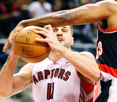 Raptors hit by seven-game losing streak in NBA