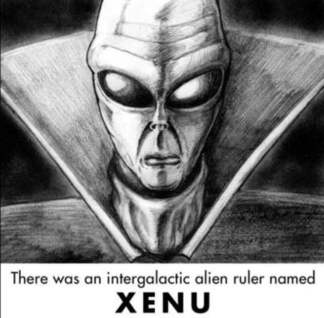 Xenu, the alien