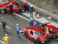 Ferrari in world's most expensive car crash
