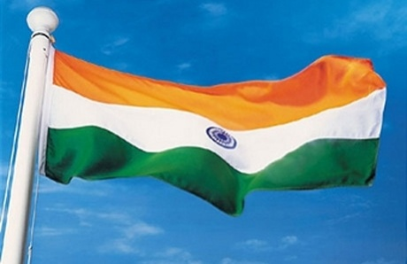 Indian flag hoisted at Games Village in London