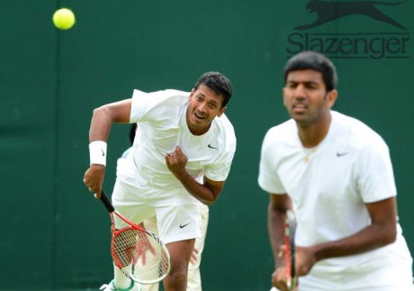 Paes-Stepanek, Bhupathi-Bopanna out of Wimbledon