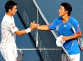Go Soeda and Kei Nishikori