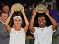 Leander Paes and Elena Vesnina