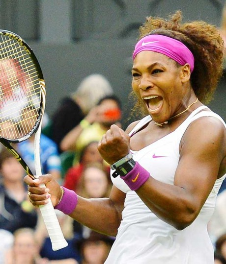 Serena blasts Kvitova off court