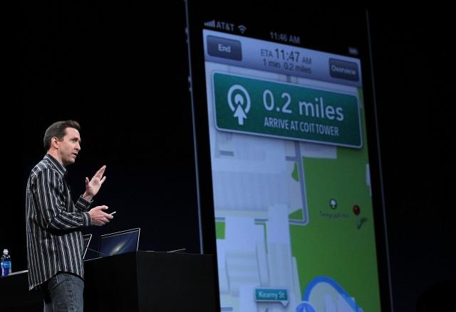The Maps app