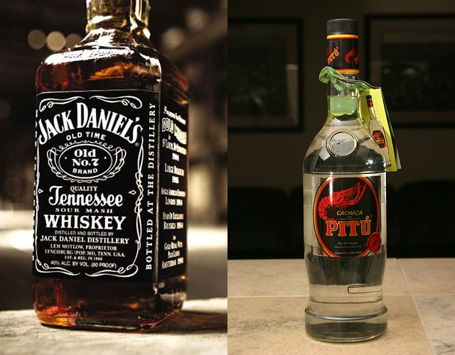 Jack Daniel's (US whiskey) - 10.58m cases and Pitu (cachaca) - 10.49m case