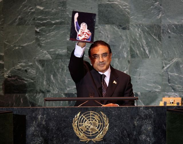 Asif Ali Zardari