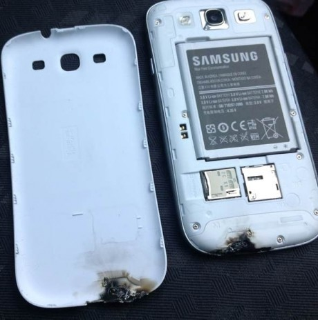 Samsung Galaxy S III explodes in Ireland