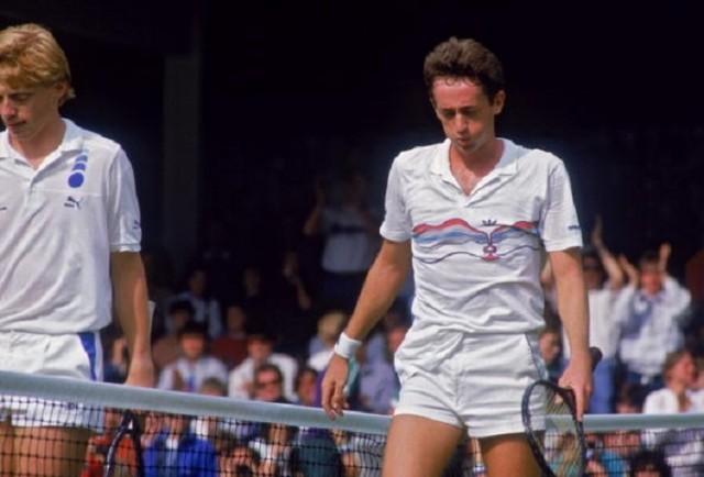 Australian Peter Doohan beats Boris Becker