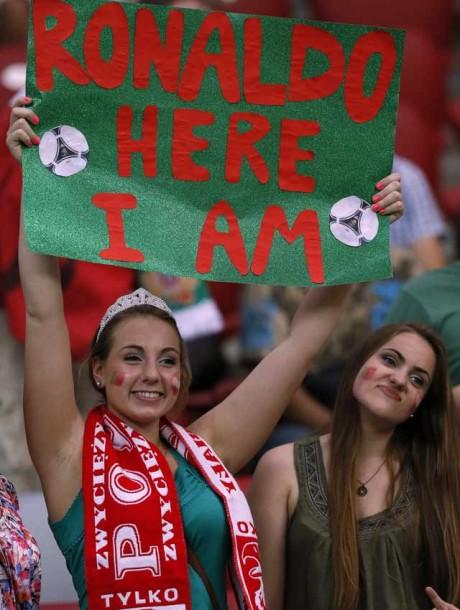 Cristiano Ronaldo 'will conquer all female fans of Ukraine'