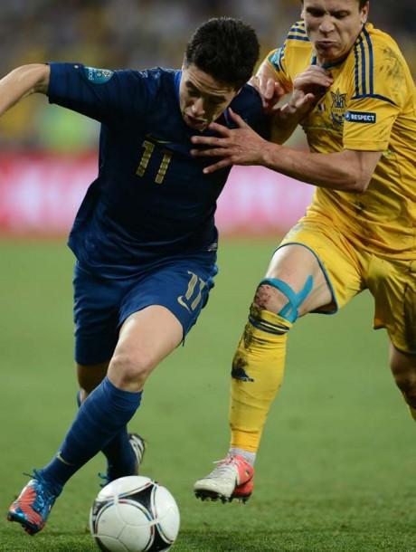 Euro 2012: France beat Ukraine 2-0