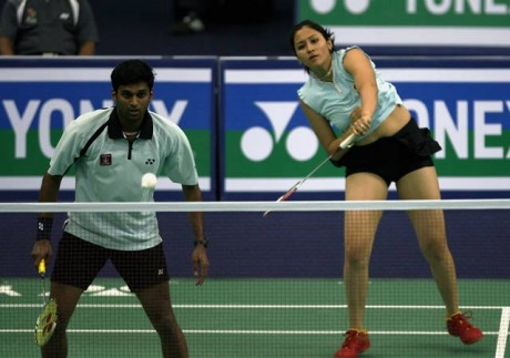 Jwala-Diju crash out of Singapore Open