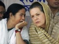 Mamata Banerjee with Sonia Gandhi
