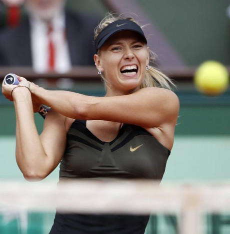 Sharapova outshines Williams sisters in style