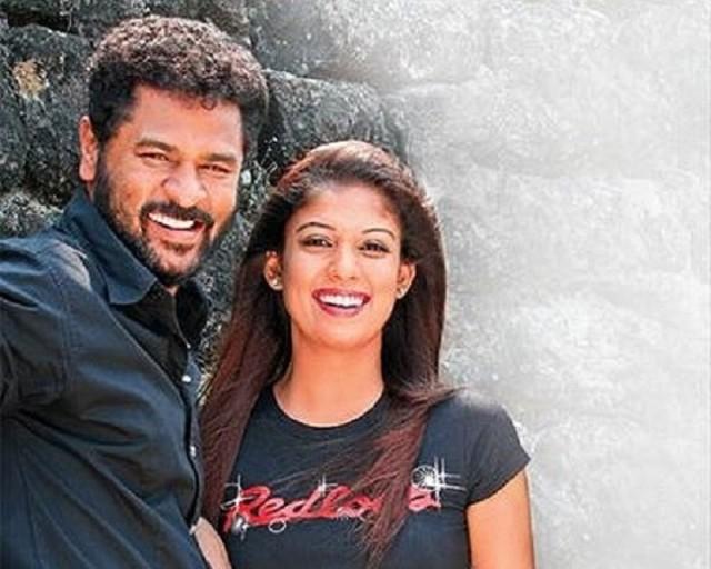 Prabhu Deva and Nayantara