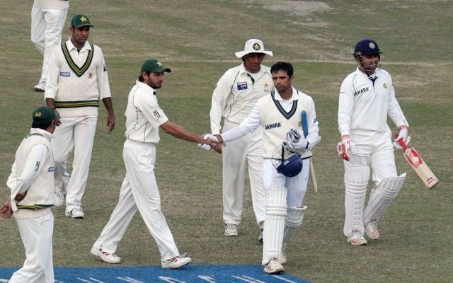 Rahul Dravid in Pakistan