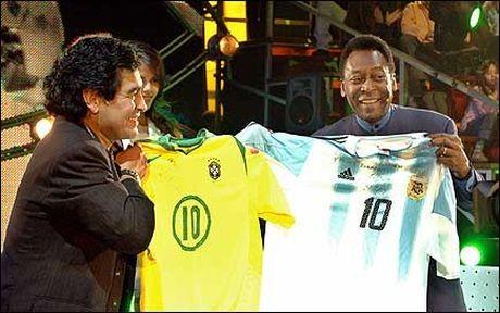 Maradona blasts Pele!