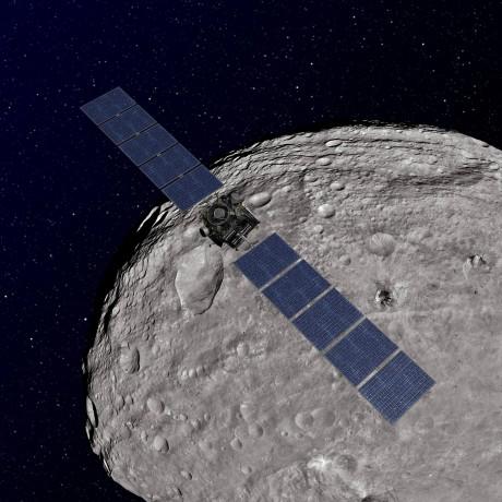 Giant asteroid Vesta