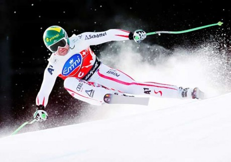 Austria's Kroell takes downhill World Cup