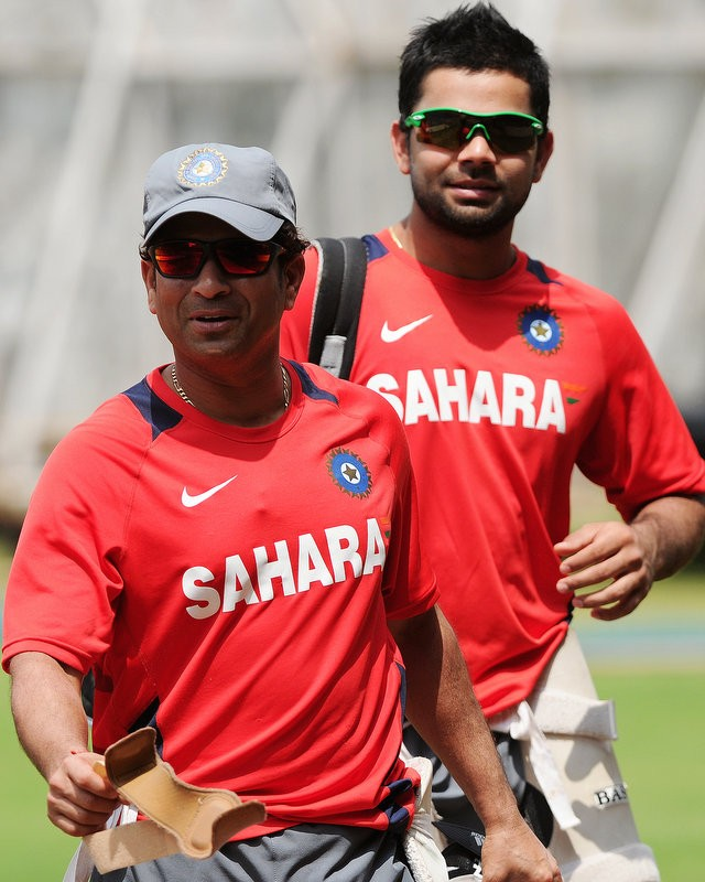 Don't put pressure on Kohli: Sachin