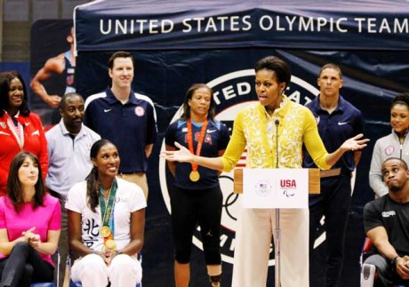 Michelle Obama to lead US delegation to Olympics