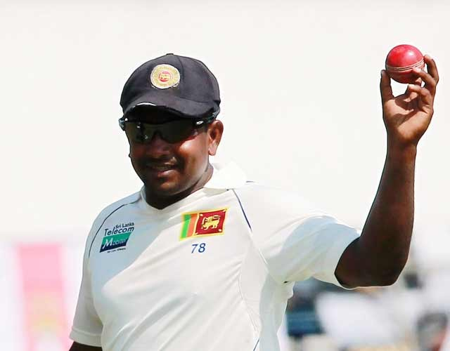 Sri Lanka's Herath spins out England