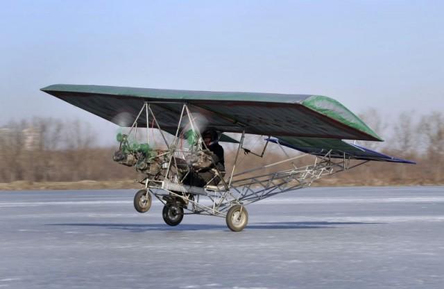 Self-made aircraft