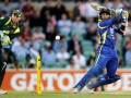 Sri Lanka's big win levels tri series