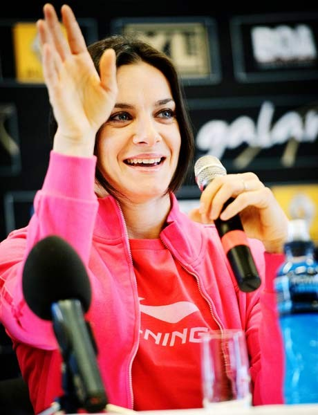 Isinbayeva top draw at world indoors