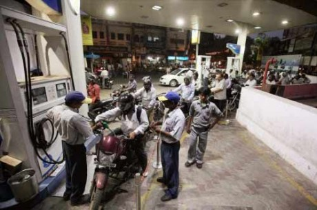Petrol price up by over Rs 7.50