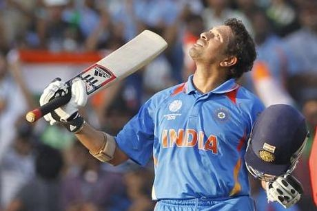 British PM auctions Sachin's 'most valuable' bat
