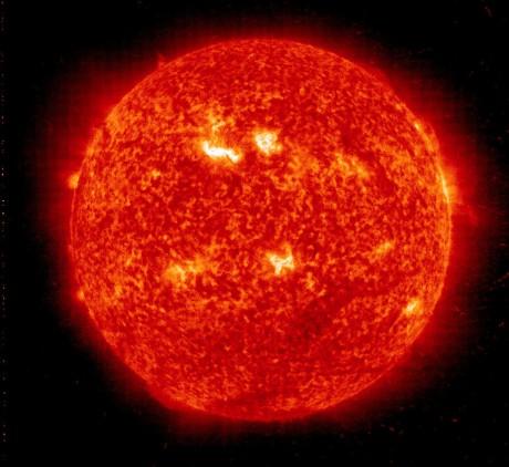 Biggest solar storm in five years