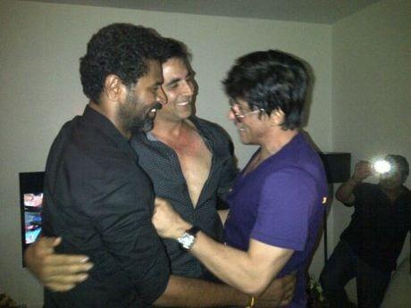 SRK-Akshay-Prabhudeva