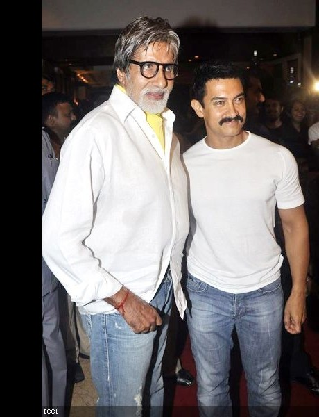 Big B, Aamir Khan