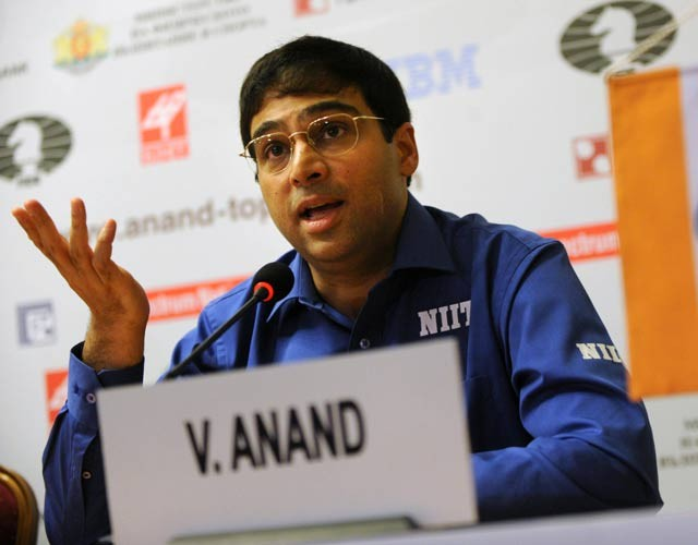 Viswanathan Anand ranks no. 4 in FIDE rankings