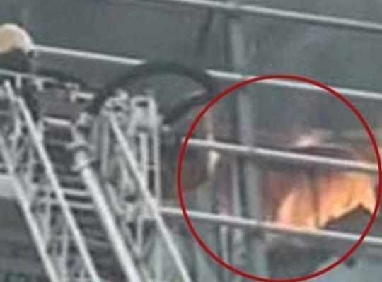 Diwali fire