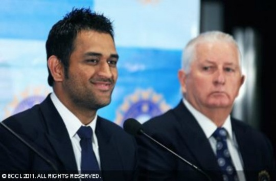 Fletcher and Dhoni
