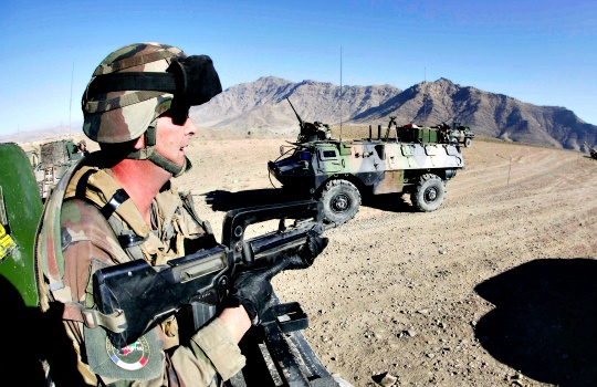 France Ends Combat Mission in Afghanistan